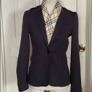 Burberry Brit Tailored Navy Suit Jacket